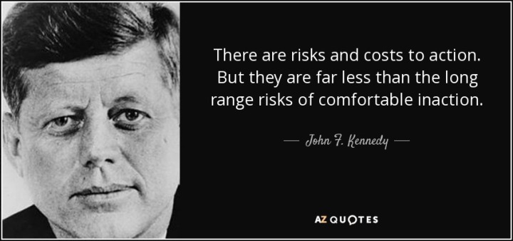 JFK on inaction