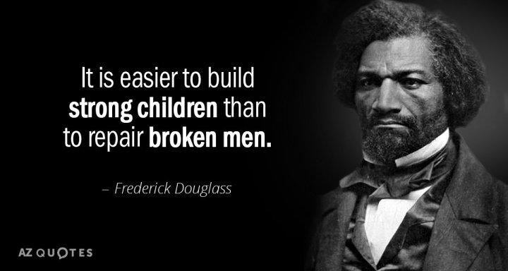 Frederick Douglass Building Children